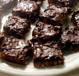Cuadraditos de chocolate
