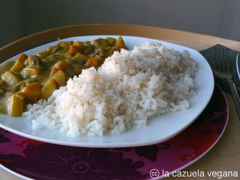 Imagen y receta de La Cazuela Vegana