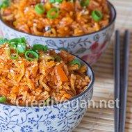 Kimchi-bokkeumbap (arroz frito