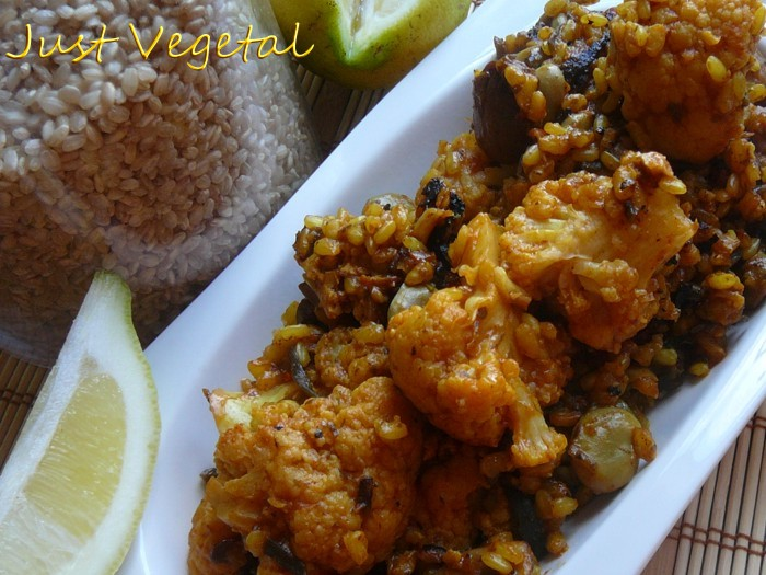 Imagen y receta de Just Vegetal