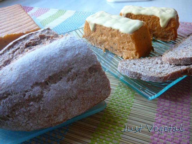 Pastel Sin Cabracho, de Garbantzu, con Veganesa de Aceite de ...
